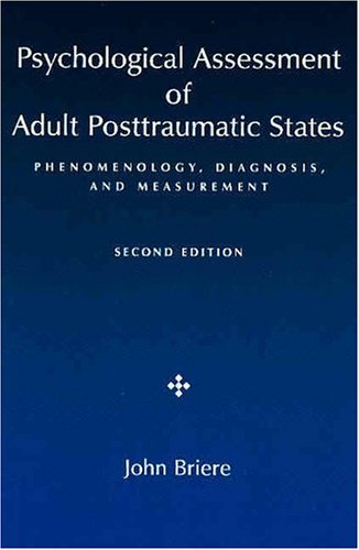 Psychological Assessment Adult Posttraumatic States Phenomenolog