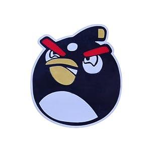 汽车油箱贴(愤怒的小鸟~黑色小鸟)3m反光贴/可爱车贴