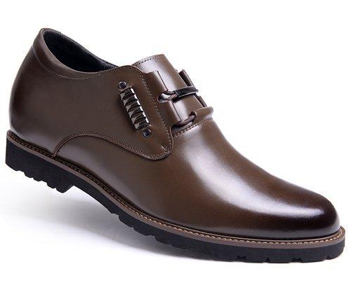 Gog/高哥 高哥内增高鞋男式 男士增高皮鞋内增高男鞋42426