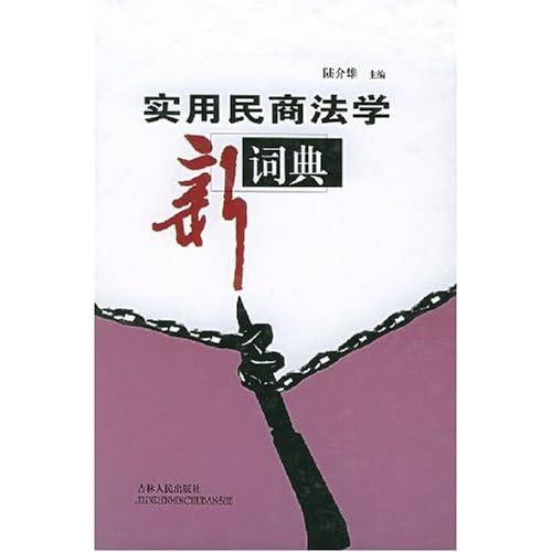 实用民商法学新词典(精)