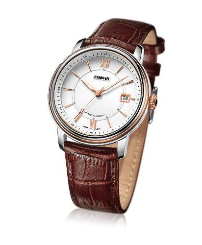 EBOHR  依波 都市经典系列机械男士手表 商务休闲 10520130-图片