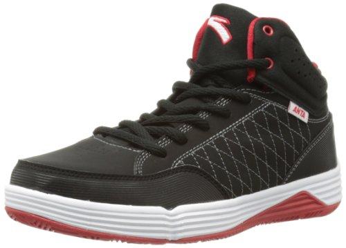 ANTA 安踏 男 篮球系列 篮球鞋 91331055-2 黑/安踏白/大红 41