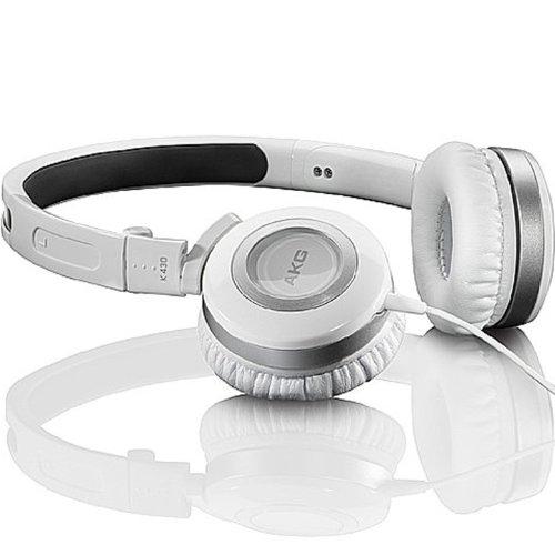 AKG K430 便携折叠式 头戴式耳机 白色