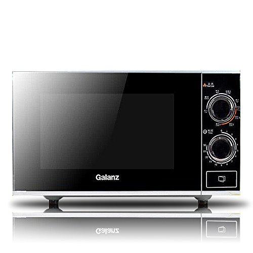 Galanz/格兰仕光波炉G70F20N3P-ZS(W0)(黑玫瑰系列,20升家用智能平板光波炉,美国进口戴森平板,经典纯平设计,无极数码旋钮)-图片