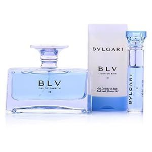 BVLGARI宝格丽沁蓝女士香体礼盒(香水50ml+香水10ml+沐浴露75ml) ¥299叠加300-60