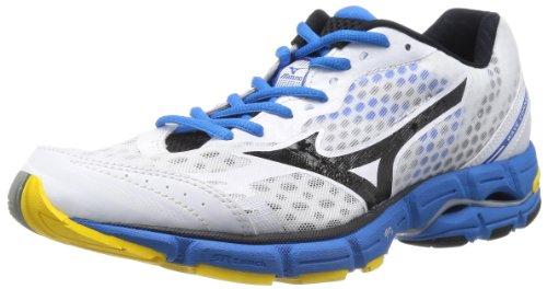 Mizuno 美津浓 次顶级支撑型 WAVE CONNECT 男 跑步鞋 J1GC144809