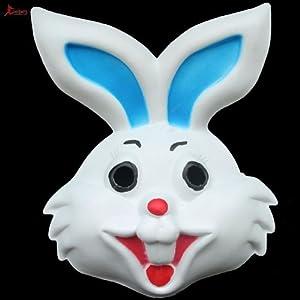 对 礼物 动物面具 头套 兔子面具 eva材质 小白兔面具怎么样,好不好