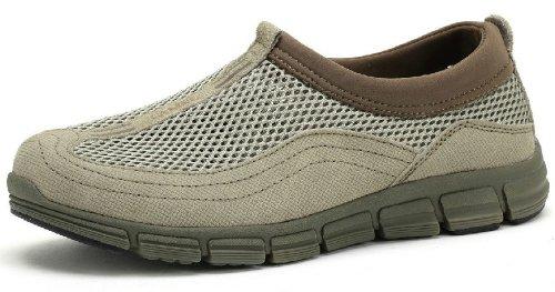 Camel 骆驼 男鞋 夏季流行 真皮日常休闲鞋 低帮户外网面透气凉鞋 3300026