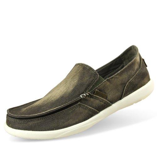 walu沃尔卢 水洗牛仔帆布鞋 男鞋 休闲鞋一脚蹬懒人鞋1266