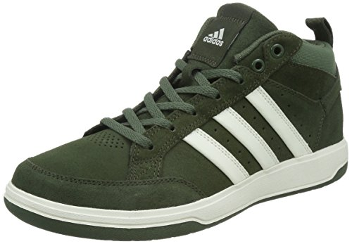 adidas 阿迪达斯 TENNIS CULTURE 男 网球鞋oracle VI STR mid Suede  S41876 夜空货物绿 F15/粉白/基础绿 S15 44 (UK 10)