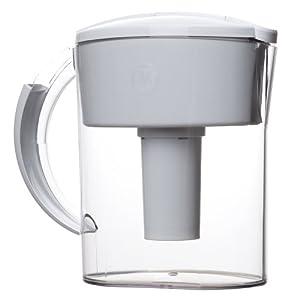GE美国通用电气 家用滤水壶( 随身携带,不需安装 ,净水器, 水处理过滤器 ) (含滤芯1个)