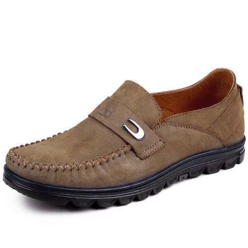 camel 骆驼 男鞋 2013新品 头层牛皮 日常休闲 商务休闲男鞋A9870
