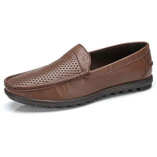 骆驼牌 男鞋 2014春夏新款 真皮头层牛皮 透气耐磨休闲 流行男鞋 W422266002