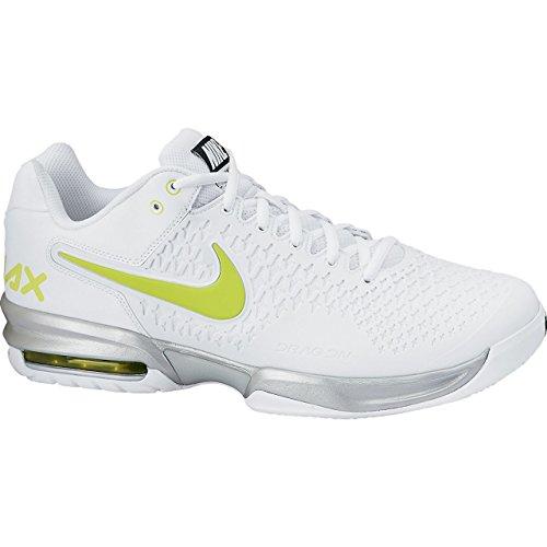 Nike 耐克 网球系列 男 网球鞋NIKE AIR MAX CAGE 554875-130 白/毒液绿/金属银/黑 42.5 (US 9)