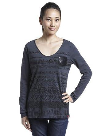 Esprit 埃斯普利特 女式 长袖T恤 XE0786FC怎么样,好不好图片