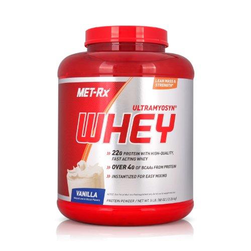 MET-Rx 美瑞克斯 Ultramyosyn乳清蛋白粉固体饮料(香草味)2260g(进口)-图片