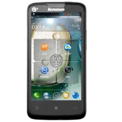 Lenovo 联想 A820T 3G手机(深邃黑)TD-SCDMA/GSM 双卡双待 四核1.2G处理器 800万像素-图片