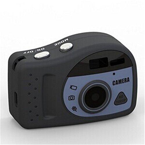 Thinkga 想家 T800 微型摄像机 1080P 高清微型摄像机 最小的迷你相机迷你DV 边充边录 录像录音  拍照单独录音 循环覆盖 边充边录  电脑摄像头功能 还可以当作安防监控、行车记录仪使用哦! (32G内存卡, 黑色(进口版))-图片