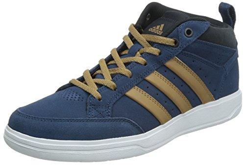 adidas 阿迪达斯 TENNIS CULTURE 男 网球鞋oracle VI STR mid  M25421 富贵蓝 F14/纸板黄/夜空灰 40 (UK 7)