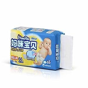 妈咪宝贝 瞬吸干爽纸尿裤 NB66片 39.9元包邮