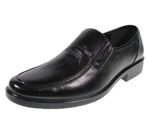 YEARCON 意尔康 日常休闲鞋真皮鞋男单鞋套脚男鞋子 25AE73272A