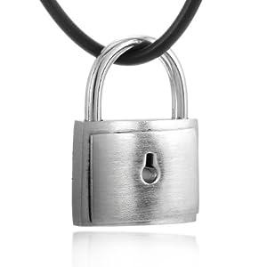 新光饰品 925纯银男女适用项链-神奇可开锁