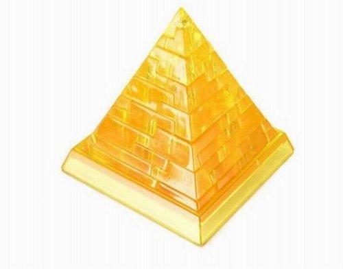创意潮品-古埃及金字塔自装3d拼图(黄色)