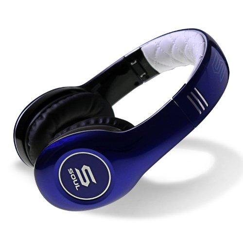 Soul by Ludacris SL150BU Hi-Definition Headphones高清专业头戴式耳机 雅蓝色