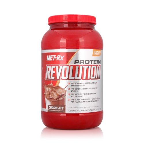 MET-Rx 美瑞克斯 训练蛋白粉固体饮料(巧克力味)1134g(进口)-图片