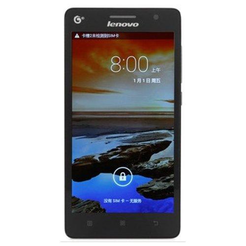 Lenovo 联想 A708T 3G手机(深邃黑)TD-SCDMA/GSM 双卡双待 5.5英寸屏幕 四核1.3GHZ处理器 移动定制-图片