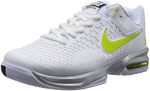 Nike 耐克 网球系列 男 网球鞋NIKE AIR MAX CAGE 554875-130 白/毒液绿/金属银/黑 42 (US 8.5)