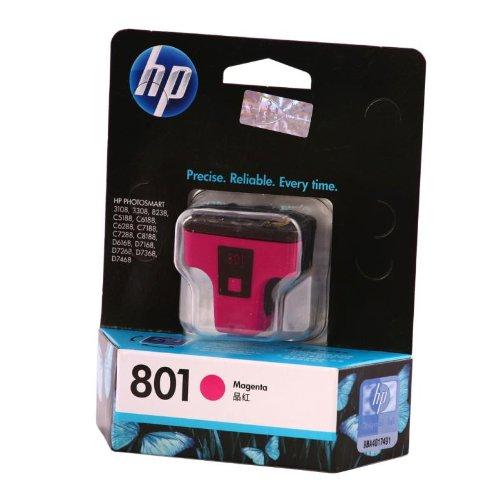 惠普(HP)C8772ZZ 801号 品红色墨盒(适用HP Photosmart C7288 C8188 D7268)