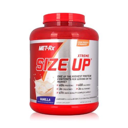 MET-Rx 美瑞克斯 Size Up营养粉固体饮料(香草味)2721g(进口)-图片