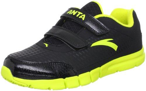 ANTA 安踏 跑步系列 男童 跑步鞋 黄绿/黑色 37 31245516-3