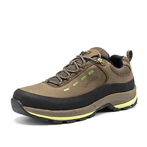 MULINSEN 木林森 男士登山鞋户外耐磨牛皮徒步鞋防滑户外运动鞋