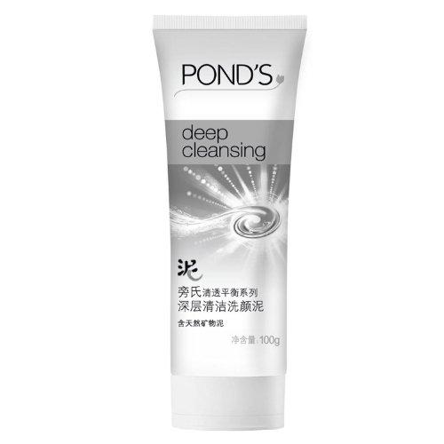 POND'S旁氏清透平衡系列深层清洁洗颜泥 100g