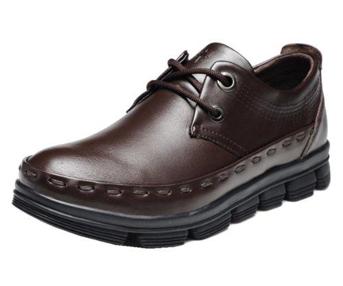 Xiyucamel 西域骆驼 新款英伦大头工装男靴 户外旅行休闲款磨厚底款 意式时尚男鞋 西部男鞋 时尚男鞋