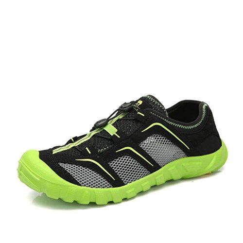 Camel 骆驼 户外徒步鞋 2014年夏新款网面舒适透气鞋 男登山徒步鞋A422162045