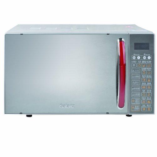 Galanz格兰仕微波炉G80F20CN2L-B8(R0)(20升微电脑平板式!智能营养烹饪 、独有微波、光波、预约、童锁 确保食物营养保鲜)-图片