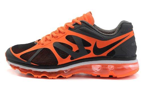 Nike 耐克 Air Max 2012 系列 后掌气垫 网面 透气 缓震 抓地 男子休闲运动鞋 487982-005