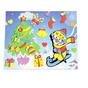 幼儿圣诞节贴画