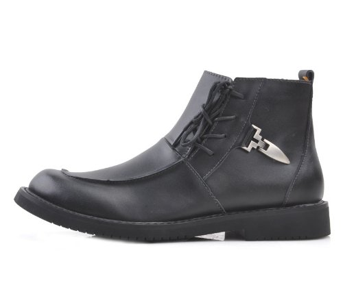 Camel 骆驼 英伦型男大爱超酷个性系带工装靴 时尚大气潮流马丁靴休闲鞋男靴 真皮舒适户外靴军靴 流行男鞋