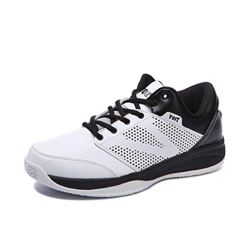 Voit 沃特 运动鞋款春夏透气鞋 耐磨防滑中帮篮球鞋男