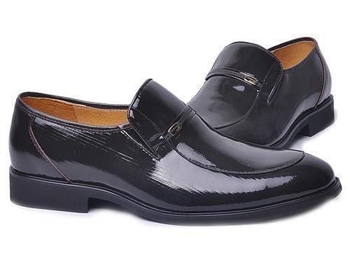 Crocodile 鳄鱼恤 尖头套脚牛皮时尚正装鞋 男 正装鞋 B10379326 brown