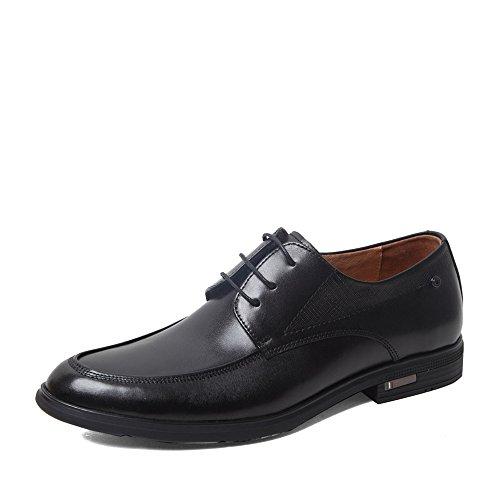 Senda 森达 森达春季专柜同款打蜡牛皮商务休闲男单鞋 1DW01AM5