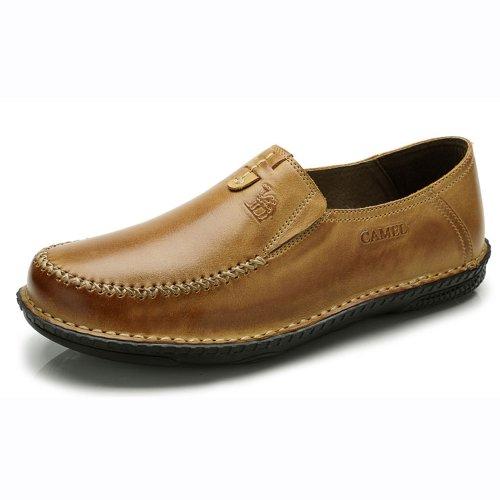 Camel 骆驼 男鞋 2013春夏新款 简约时尚手工缝线休闲鞋 时尚休闲鞋 板鞋 82302607