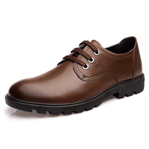 Vancamel 西域骆驼 时尚真皮大气经典高端 手工鞋 正装鞋 英伦流行款 男鞋 头层牛皮尊贵 时装鞋 绅士风个性商务 休闲鞋 皮鞋