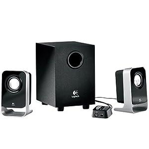 罗技 Logitech LS21 2.1多媒体音箱 85元包邮 (原价105下单减20)