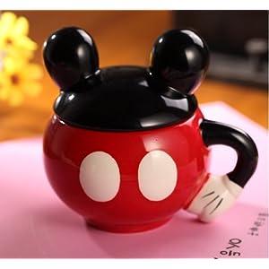 超萌超可爱 个性米老鼠 时尚创意水杯陶瓷杯子