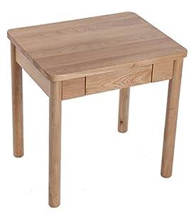 木作之合 北美进口白橡原木床头桌 全实木小边桌 床头
